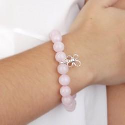 Pulsera solidaria contra el cancer de mama