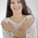 Joyas contra el cancer | Brazalete Flor de Vida Mediano
