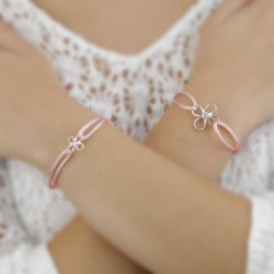 Joyas contra el cancer de mama Pulsera Flor de Vida