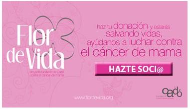 Hazte socio de la fundación Le Cadó contra el cáncer de mama